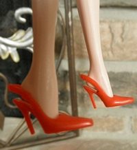 Open-Back/Closed-Toe Heels